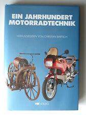 Livre moto en allemand : Ein jahrhundert motorradtechnik
