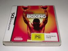 Showtime Championship Boxing Nintendo DS 2DS 3DS Game *Complete*