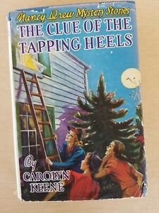 Nancy Drew Mystery Stories The Clue of the Tapping Heels unrev dj