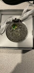 WATERFORD - CRYSTAL BALL Ornament - Times Square 2000