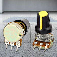 1X(5pcs 10K OHM 3 Terminal Linear Taper Rotary Audio B Type Potentiometer X8D2)