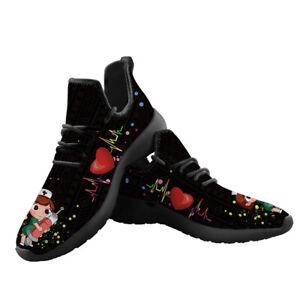 Womens Casual Sports Sneakers Nurse Shoes Comfort Walking Shoes Fashion Sneaker