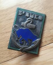Insigne militaire 3e bataillon de marche Extrême-Orient BMCO indochine TDM opex