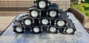10 Stromschienenstrahler Spot Halogenstrahler schwarz ( 1 Posten = 10 Strahler)