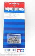New Tamiya RC Pin Type Wheel Adapter Set 12 mm Hex Part 53056 Hot Shot & More