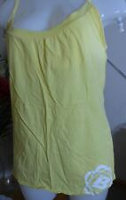 Bench - Yellow  t shirt with bra support - size L - Brand new without tags