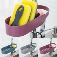Creative Kitchen Sink Sponge Scrubber Tidy Storage Organize Rack Holder W6V6
