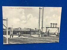 Bletchley Station Bucks London North Western Railwayl Signal Formation c1910