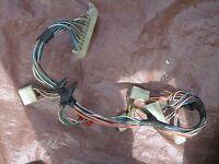 FIAT 124 SPIDER DASH HARNESS CLOCK SPEEDOMETER TACHOMETER