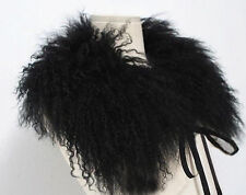 """100% Real Mongolian lamb fur collar /scarf 21.65*9.84"""" Wraps Valentine's Day"""