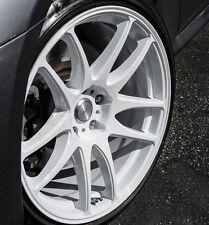 """18"""" ESR SR08 White Wheels 18X8.5 5x114.3 +30 For Acura RSX TSX TL CL Rims Set 4"""