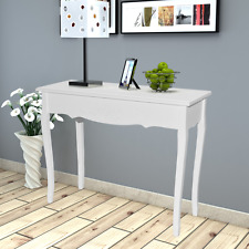 White Console Table Dressing Tables Hallway Bedroom Rectangle Furniture Decor