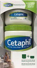 Cetaphil Moisturizing Cream For Dry Sensitive Skin 20oz + 8.8 oz