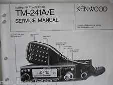 Kenwood Tm-241a / e (Genuino Manual de servicio solamente)............ radio_trader_ireland.