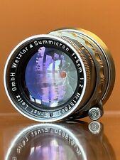 LEICA SUMMICRON-M 50mm f/2 Lens - Recent CLA! Sample Photos!