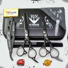 "6.5"" Professional Salon Hairdressing Scissors Hair Cutting Thinning Shears Set"
