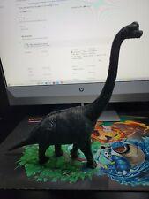 Brachiosaurus Dinosaur 1980s Vintage Larami Action Figure Green Red