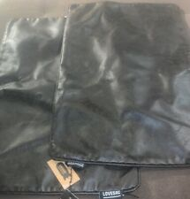 2 NWT LOVESAC LEATHER SOLID  PILLOW COVERS
