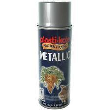 PlastiKote Metallic Spray Silver 400ml 621