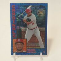 2019 Topps 84' Topps Yadier Molina Blue Refractor 97/150 SP St. Louis Cardinals