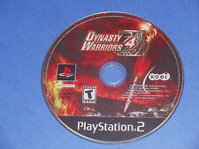 Dynasty Warriors 4 IV (Sony PlayStation 2) PS2 strategy game disc only RATED T