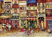 "NEW! Ravensburger ""Streets of France"" 1000 Piece Jigsaw Puzzle"