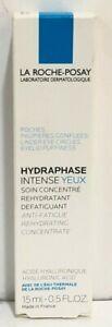 La Roche-Posay Hydraphase Intense Eyes 0.5 oz / 15 ml NIB EXP 2022