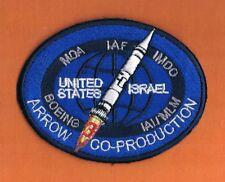 "ISRAEL IDF ""HETZ 3"" ARROW 3 ANTI BALISTIC MISSILES SYSTEM PATCH VERY ELEGANT"