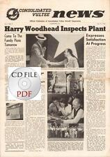 CD File 19 issues Consolidated Vultee News 1943 Allentown, PA. WW2 Airplanes PDF