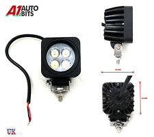 12V 24V SQUARE 4 LED WORK FLOOD LIGHT LAMP CAR JEEP TRUCK BOAT OFFROAD ATV