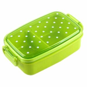 Polka Dots Pattern Microwavable Bento Lunch Box For Children PP Plastic BPA Free