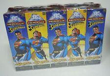 DC Heroclix Superman Booster Brick NEW 10 Packs = One Half Case