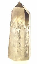 Smokey Citrine Natural Quartz Hand Polished Gemstone Obelisk 1