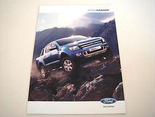 Ford . Ranger . Ford Ranger . April 2012 Sales Brochure