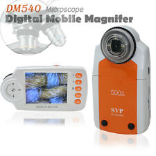 SVP DM540 Digital Mobile Magnifier MicroScope 500x ZOOM w/ Camera & Video Mode