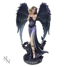 Nemesis Now- Branwyn -Fallen Angel & Dragon Figurine Ornament gothic 35cms