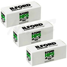 3 Rolls Ilford HP5 Plus 120 Black and White Negative Print Film ISO400 FRESH