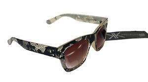 Kardashian Kollection Genuine Sunglasses (Style 325) Faux Snake/Reptile New Tags
