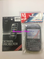 BlackBerry CURVE 8520 8530 CASE - SCREEN PROTECTOR FOR 8520 & 8530 NEW SEALED