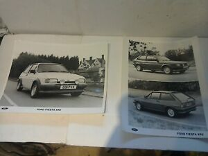 FORD FIESTA MK2 XR2 PROMOTIONAL PHOTO'S NEW OLD STOCK ORGINAL FORD