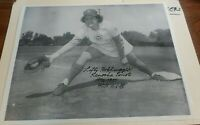 ALICE HOHLMAYER AUTO 8X10 PHOTO AAGPBL KENOSHA COMETS LEAGUE OF THEIR OWN