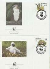 WWF 4 x FDC Pilipinas 1991 - Vogels / Birds (212)
