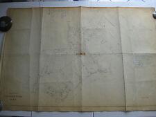 ROMA Mappa Catastale 446 PORTUENSE CASETTA MATTEI CONTEA 1943