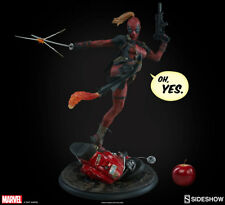 Sideshow Marvel Comics Lady Deadpool Premium Format Figure Statue In Stock