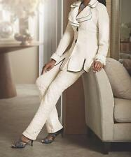 Mother Of Bride Women's Wedding Church 3PC Wardrober Skirt &pant suit plus 1X 2X