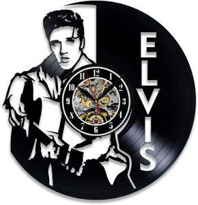 Elvis Vinyl Record Clock Jazz Art Music Clock Vinyl Wall Decor Music