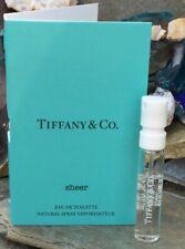 Tiffany & Co.Sheer Eau de Toilette Spray .04 oz. / 1.2 ml