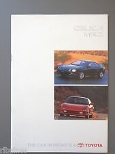 R&L Sales Brochure: Toyota Celica & MR2 UK 1995, inc. GT4/Cabriolet