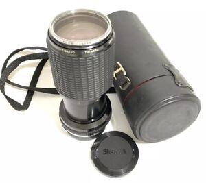 Vtg Zoom Sigma K2 KII f:4.5 70-210mm Lens Multi Coated OLYMPUS Japan 52mm Filter
