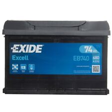 Type 096 Car Battery 680CCA Exide 74Ah 3 Years Warranty OEM Replacement